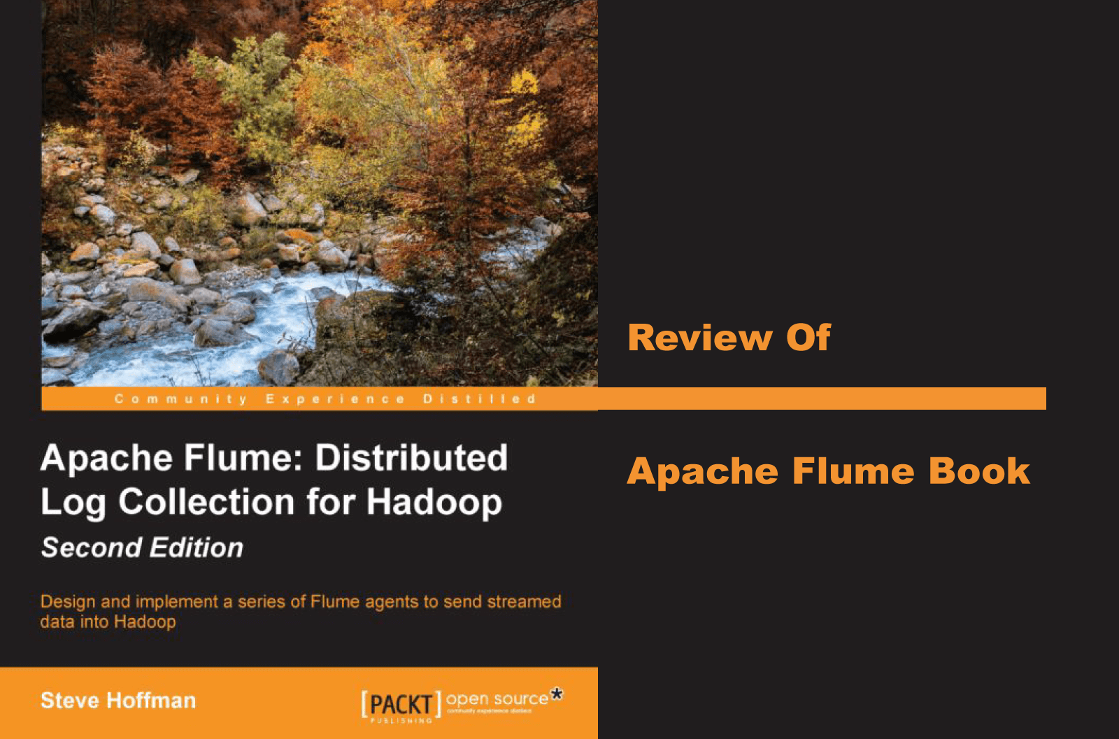Review of Apache Flume book (Packt), second edition