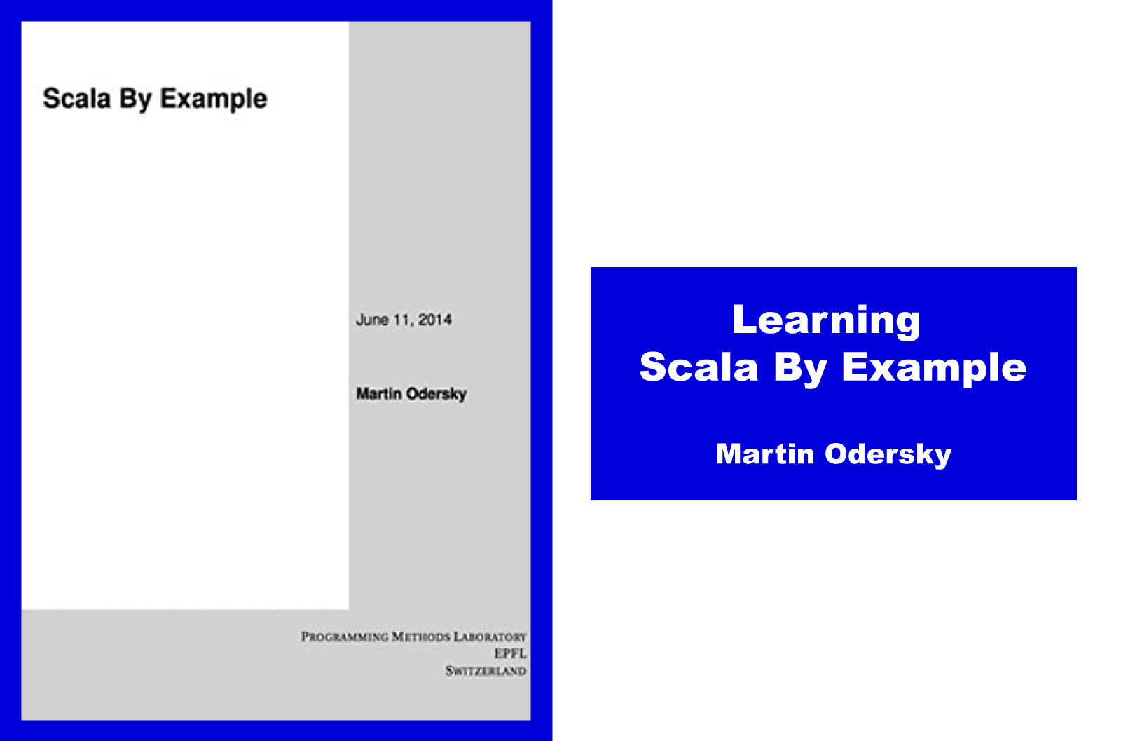 Learning Scala by Example