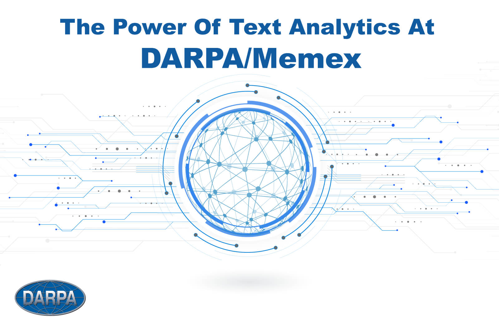 The Power of Text Analytics at DARPA/Memex