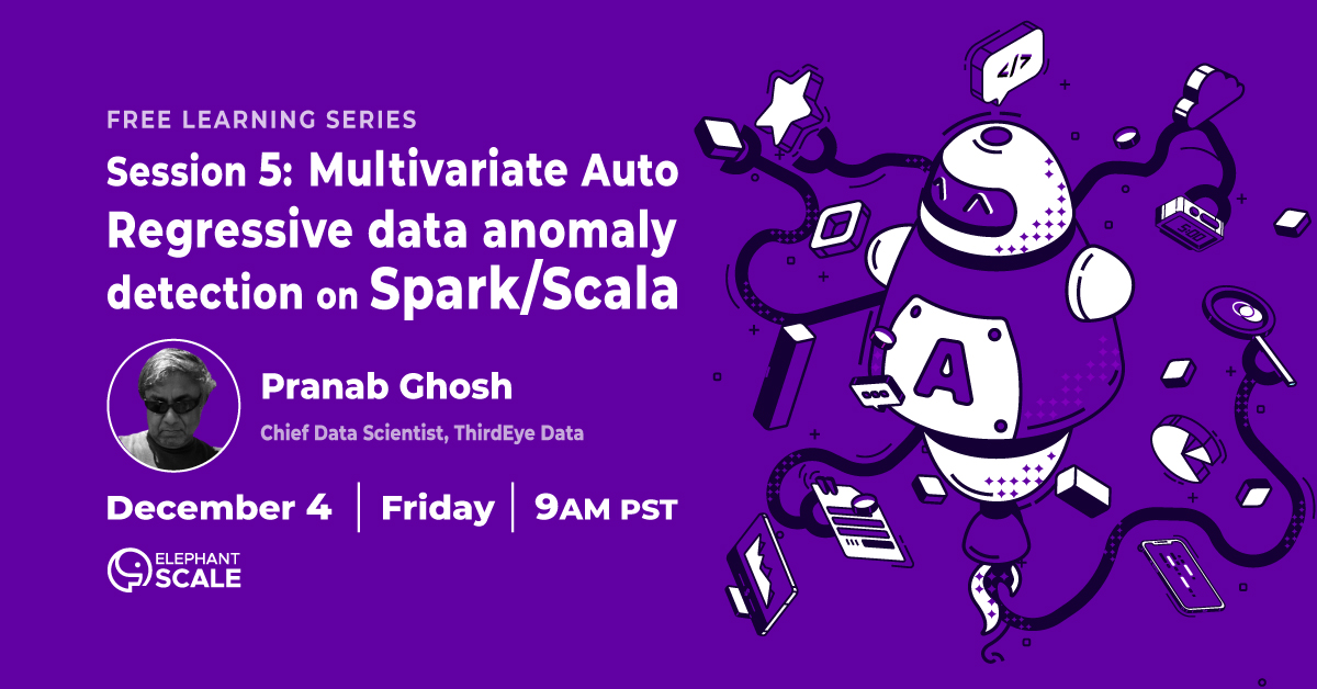 Anomaly Detection Session 5: Multivariate Auto Regressive Data Anomaly detection on Spark/Scala